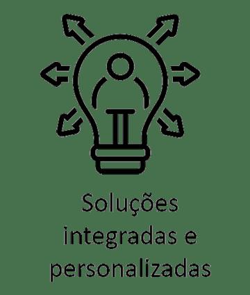 Soluções integradas e personalizadas