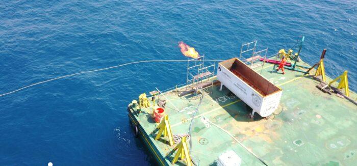 oil spill platform